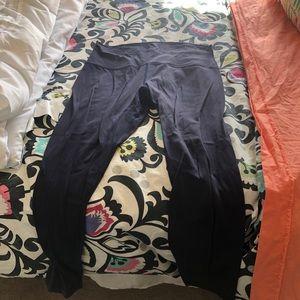 Navy lulu lemon align leggings